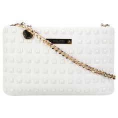Bolsa Colcci Mini Bag Rebites Branco | Zattini - A nova loja de moda online da Netshoes