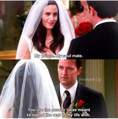 My prince. My soulmate Friends Moments, Friends Show, Friends Forever, Monica And Chandler, Chandler Bing, Friends Season 3, Season 7, Monica Rachel, Soulmate Friends