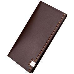 Hot 2017 Famous brand men's wallet genuine leather long Wallet men money handbag Ultra-thin coin Purse Clutch Men bag Card