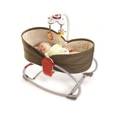 Tiny Love 3 in 1 Rocker Napper, Brown Baby bouncer feeding new free shipping