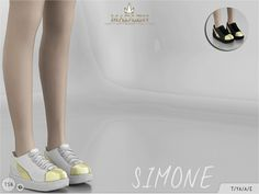 Madlen Simone Shoes - The Sims 4 Catalog The Sims 4 Shoes, The Sims 4 Pc, Sims 4 Mm Cc, My Sims, Mods Sims 4, Sims 4 Mods Clothes, Sims 4 Clothing, Zapatillas Nike Air Force, Sims 4 Tsr