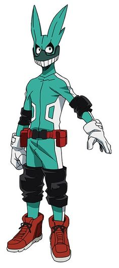 My hero academia / image links - tv tropes Deku Hero Academia, My Hero Academia Costume, Buko No Hero Academia, Hero Academia Characters, My Hero Academia Manga, Hero Costumes, Character Costumes, Character Drawing, Character Design