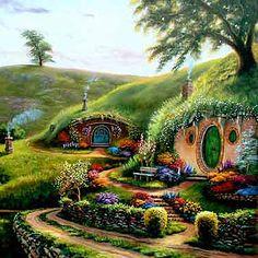 Hobbits Under Hill