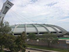 Photo du stade Olympique de Montréal prise par Yohan Germany en Aout 2016.