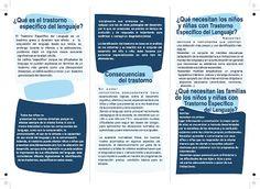 Materiales para Fonos - Logopedas : TRASTORNO ESPECIFICO DEL LENGUAJE