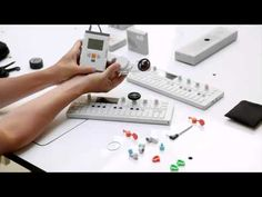 Fun new accessories for the OP-1 Synth from Teenage Engineering.