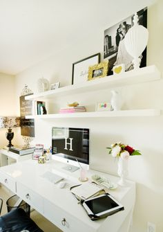 white office decors. white office decors b