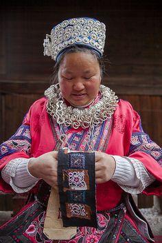 Guizhou : Weng Xiang, Gejia Miao portraits #7   foto_morgana   Flickr