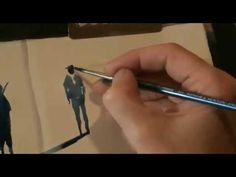 painting demonstration by Bill Lupton - painting people in landscapes - the easy way - YouTube