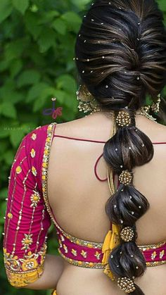 Nice Women's Hair Styles For other models, you can visit the category. Indian Wedding Hairstyles, Bride Hairstyles, Scarf Hairstyles, Bridal Hairdo, Bridal Bun, Bridal Photoshoot, Hear Style, Hair Upstyles, Bridal Blouse Designs