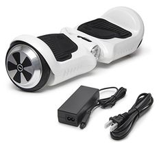 """SURFUS HR JUNIOR 4.5"""" Waterproof Hoverboard with Matte UL Certified Self-Balancing Scooter with LED lights, White 2272"""
