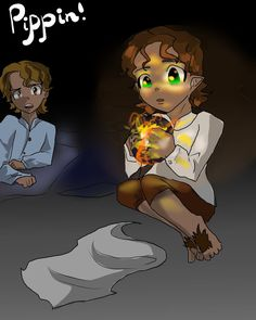Pippin and palantir by Rina-from-Shire on deviantART