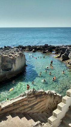 Piscina naturale di Marina Serra nel Salento - Puglia