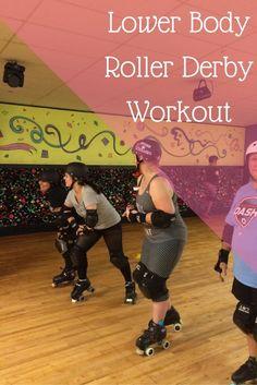 Lower Body Roller Derby Workout