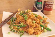 Skinny Orange Chicken with Asparagus & Quinoa   Little Kitchen, Big Bites