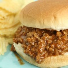 This Sloppy Joes is so easy to make and taste way better than sloppy joes in a can. How to make sloppy joes with ketchup and just two more ingredients.