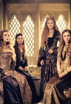 I'm in love with this show! I'm always so excited for the next week! Fascinating! I love all history... Especially Royal History!   I'm rewatching The White Queen now & it's even better than I remembered!