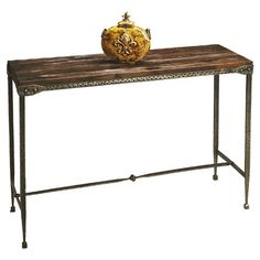 Found it at Wayfair - Mountain Lodge Accacia Console Table