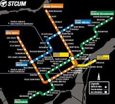 Of all the cityscapes that show Montreal to be so very glamourous, this is what makes me most excited. Real rapid transit! Huzzah!!