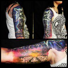 Metallica tattoo color