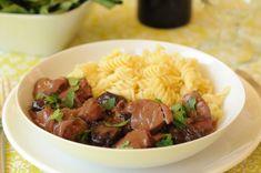 pulpa-de-cerdo-y-ciruelas-e1361553544112 Yummy Yummy, Carne, Beef, Food, Gastronomia, Gourmet, Meals, Meat, Essen