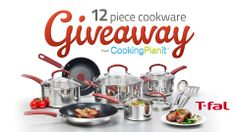 #CookingPlanit T-fal Cookware Set Giveaway {i love} my disorganized life #win #giveaway