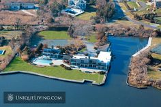 Westhampton, NY - For some, living by the water is undeniably calming. Maybe it's the stillness, or the breeze making gentle ripples on the surface, or maybe it's the quiet majesty of it all. Luxury Property For Sale, International Real Estate, Waterfront Property, Real Estate Broker, The Hamptons, Luxury Homes, Villa, United States, Around The Worlds