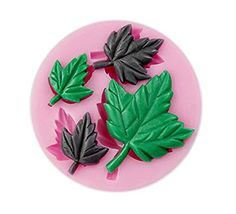 Generic Maple Leaves Fondant Soap Sugar Craft Cake Cookie Decorating Silicone Mold *** Want additional info? Click on the image.