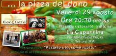 Una pizza in compagnia per raggiungere il traguardo su Eppela!!! Vieni anche tu? http://www.eppela.com/ita/projects/869/accanto-a-te-come-vuoi-tu