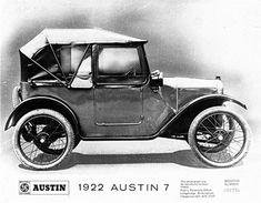 Austin Seven, 1922