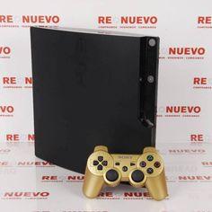 Consola PS3 SLIM de 120Gb (4.66) + Mando de segunda mano E271678 # PS3 Slim# de segunda mano# Ps3