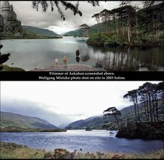 """Site #63 of Book 5 [http://harrypotterplaces.com/scotland-hogwarts-home/] is a small islet in Loch Eilt named Eilean na Moine. First seen in Prisoner of Azkaban, it's later the film site for Dumbledore's tomb. Each HPP chapter has PARSELTONGUE POINTERS: tips for pronouncing things. For instance, """"Eilt"""" is pronounced like the word """"ALE"""" with a hard """"T"""" on the end. """"Eilean na Moine"""" is trickier! Start with """"ALE-an,"""" then add """"pneumonia"""" = ALE-an nah MOAN-yah! #HarryPotterScotland…"""