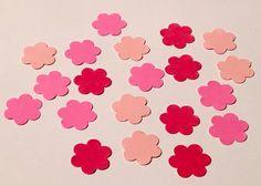 225 Pink Confetti Birthday Confetti Glitter by JBPartyCreations