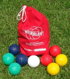 An American Made Outdoor Game Set That's fun for all ages! Enter to win a Family set of Murbles - USA Love List