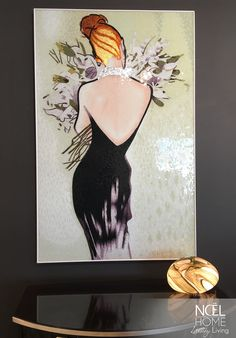 This beautiful lady glistens with seventeen thousand hand-colored glass mosaics. Luxury truly does come in all shapes and sizes. Christopher Guy, Bouquet, Luxury Living, Hand Coloring, Mosaic Glass, Other Accessories, Colored Glass, Mosaics, Seventeen