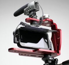 Turn your iPhone into a compact, lightweight video production rig with the DiffCage