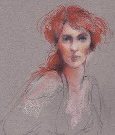 Pastel sketch. By Rosalie Wrona. http://rosaliewrona.blogspot.com/