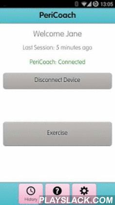 PeriCoach  Android App - playslack.com ,  The PeriCoach App forms part of a medical device system designed to strengthen women's pelvic floor muscles. The app can not be used independently and requires the sensor device. More information can be found at pericoach.com This is a Class I medical device currently only available for sale in Australia and New Zealand. It is not available for sale in the US. De PeriCoach App maakt deel uit van een medisch hulpmiddel dat is ontworpen om vrouwen…