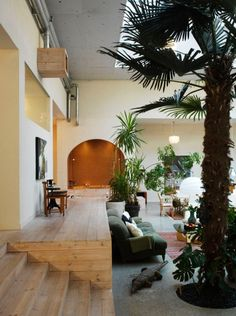 atrium, tall ceilings, mismatched. <3!    desire to inspire - desiretoinspire.net - MyricaBergqvist