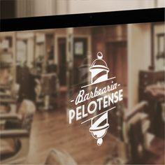 Barbearia Pelotense - Identidade Visual, Marca, Logo, Barber
