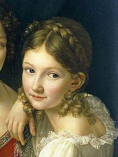 1816–1823 Kinderfrisur