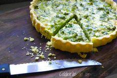 Receitas do Caldeirão : Quiche de brócolis e queijo