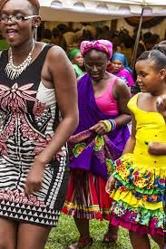 tsonga traditional wedding dresses images - Google Search Traditional Weddings, Traditional Wedding Dresses, Traditional Design, West Africa, South Africa, Africa People, Torah, African Prints, Flower Girls
