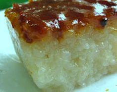 Bibingkang Malagkit | Sticky Rice Cake Recipe
