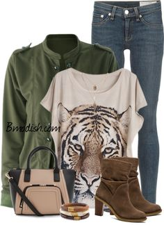Bomber jacket casual outfit polyvore