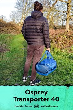 """The Osprey Transporter 40 claims to be a """"brilliant all-round travel pack,"""" but it falls short in a few key areas. While we like the hideaway harness system and… Best Travel Backpack, Travel Packing, Travel Bags, Osprey Farpoint, Fall Shorts, Backpack Reviews, One Bag, Sling Backpack, Cube"""