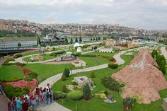 Miniaturk is a Miniature Park Situated at the North-Eastern Shore of Golden Horn in Istanbul, Turkey