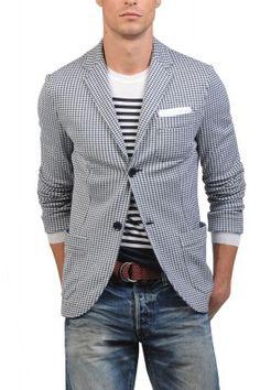 Valentino Jersey Blazer. This unstructured blazer is pure style.