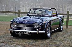 reignofmethanol: Triumph TR4.