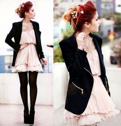 Sheinside Dress, Coat